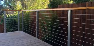 Types of deck railings Metal San Diego Cable Railings Offers Bare Stainless Steel Deck Railing Posts For Both Fascia Mounted And Surface Mounted Railing Types San Diego Cable Railings Stainless Steel Deck Railing Posts San Diego Cable Railings