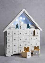 everything party novelty decs wooden calendar advent