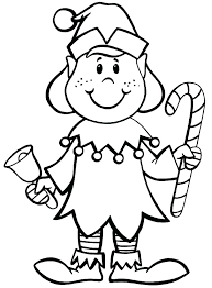 Elf On The Shelf Coloring Page Cute Pages Elves Of Betterfor