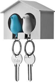 <b>Держатель</b>-брелок для <b>ключей</b> со свистком «Duo sparrow»