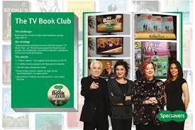 specsavers opticians the tv book club promo pr ad by mec london promo pr ad by mec london