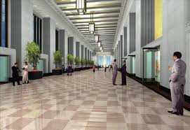 office lobby. Lobby Renovation, New Rooftop Planned For Old Post Office
