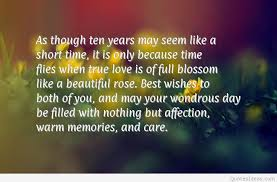 10 Year Anniversary Quotes Best Happy 48rd Marriage Anniversary Quotes Wallpapers Hd