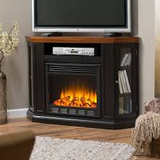 wonderful ideas corner electric fireplace tv stand to warm up your room heram decor awesome home interior decoration ideas