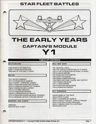 Star Fleet Battles Master Ship Chart Module Y1 Rulebook 5623 2 10 00 Star Fleet Store