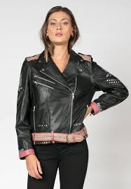 religion rook biker leather jacket lisa may jolley
