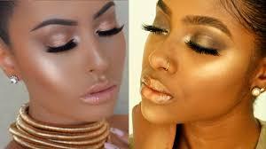 amrezy inspired bronzed glow makeup for dark skin sue