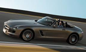Mercedes-Benz SLS AMG Roadster technical details, history, photos ...