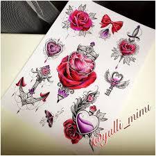 Jdtattoostudio Tattoo Rose Heart Rosetattoo Hearttattoo Key