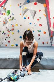 woman ready for practice rock climbing on artificial wall indoors royalty free stock photo on rock climbing artificial wall with woman ready for practice rock climbing on artificial wall indoors