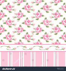 wallpaper shabby chic retro in style with roses and stripes free . wallpaper  shabby ...