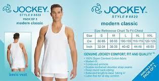 Jockey Men Modern Classic White Basic Undershirt 8823