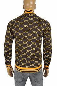 Gucci Coat Size Chart Mens Designer Clothes Gucci Mens Gg Bomber Sport Jacket 169