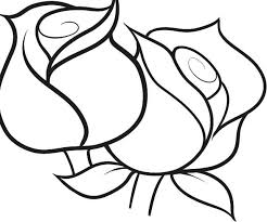 Color nice rose coloring page yourself and with your kids. Coloring Pages Rose Coloring Pages