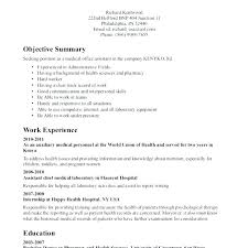 Resume Template With Objective Legal Resume Samples Administrative Assistant Good Executive Law