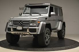 Luxury vehicles include all models from dedicated luxury brands plus luxurious models selected by our editors. Pre Owned 2017 Mercedes Benz G Class G 550 4x4 Squared For Sale Ferrari Of Greenwich Stock 4465a