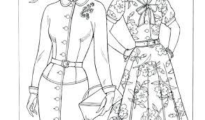 Fashion Coloring Pages Fashion Barbie Coloring Pages Printable In