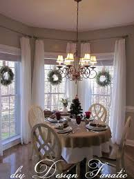 Kitchen bay window treatments fancy curtains dining room windows table  luxury photoshot full size of large
