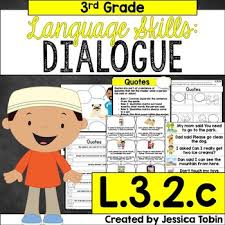 L 3 2 C Quotation Marks And Commas In Quotes And Dialogue