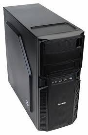 Компьютерный <b>корпус Zalman</b> Z1 Black — купить по выгодной ...