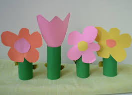 6 Flower Inspired Arts And Crafts Projects To Welcome Spring