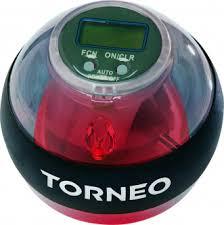 Гироскопический <b>тренажер 250</b> Гц Torneo Energy Ball серый цвет ...