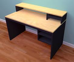 you can stain and finish it to reveal the the natural wood grain paint it any color you d like or mix painting and staining as in the black and maple desk
