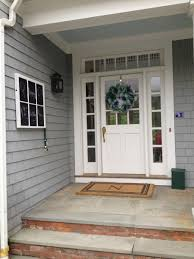 white single front doors. Incredible Design Ideas For Front Porch Decoration Your House : Magnificent With White Single Doors A