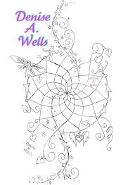 Heart Dream Catcher Tattoo Dreamcatcher Tattoo Design by Denise A Wells Dream Magic Flickr 83