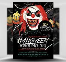 Halloween Party Flyer Template 5 15 Halloween Horror Flyerheroes
