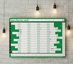 2018 Calendar Wall Planner Year Planner Wall Chart 2019