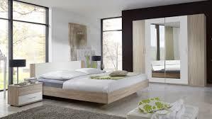 Schlafzimmer Franziska Eiche Sägerau Doppelbett Kleiderschrank