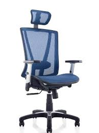 teal office chair. Fully Meshed Ergo Office Chair With Headrest Teal