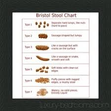 Bristol Stool Chart For Kids Bristol Stool Chart 6 X 6 Black Frame Great Gift