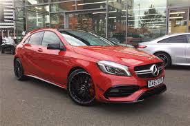 Used 2017 MERCEDES-BENZ A CLASS A45 4Matic 5dr Auto for sale in ...