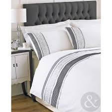 bedroom cool white cotton duvet covers interesting grey decorative pattern on white cotton duvet covers