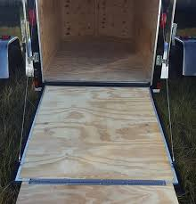 5 x 8 v nose cargo trailer