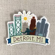 Graphic Designer Detroit Mi Detroit Mi Vinyl Sticker Products Stickers Detroit
