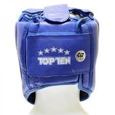 Купить <b>Шлем</b> со скулами Top Ten AIBA цв.<b>синий р</b>.M (103-4069 ...