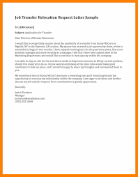 Awesome Collection Of Job Transfer Letter Business Letter Samples