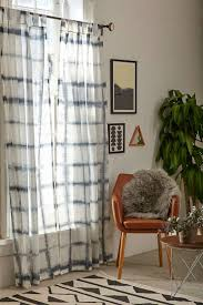 4040 locust indigo accordion dyed curtain urban outers