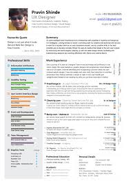 ux resume - professional skills section