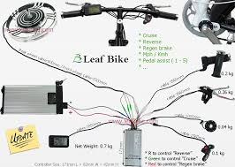 electric bike wiring diagram electric image wiring 18 inch 48v 1000w front hub motor electric bike conversion kit on electric bike wiring diagram