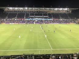 Exploria Stadium Section 134 Orlando City Sc