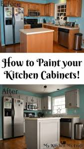 chalk painted kitchen cabinets. Chalk Painting The Kitchen Cabinets Painted