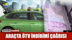 Araçta ÖTV indirimi çağrısı - YouTube