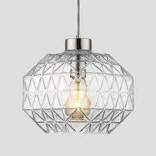 Hanging Light Fixture Glass Shades