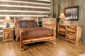 beadboard bedroom furniture. Rustic Log Bedroom Furniture Brown Ceramic Floor Tile Painted Brick Accent Walls Turquoise Beadboard White : Home Improvement And O