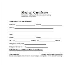 Medical Certificate Format For Sick Leave For Student In India