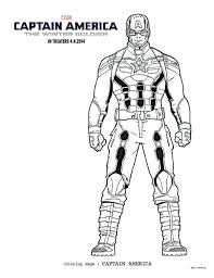 Small Picture FREE Captain America Coloring Pages and Activity Pack